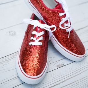 Shoes - Sparkling Red Shoes